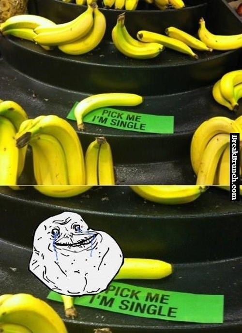 Forever alone banana