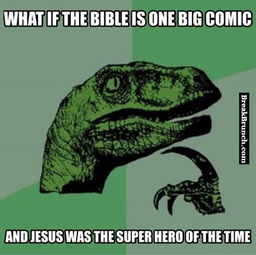 What if Bible is one big comic