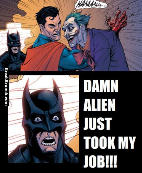 Why Batman is fighting Superman