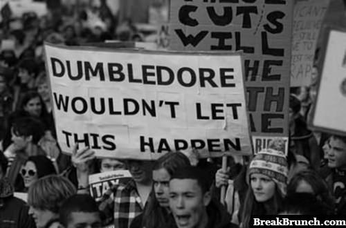Epic protest sign is epic