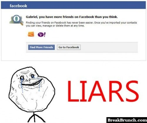 Facebook is a liar