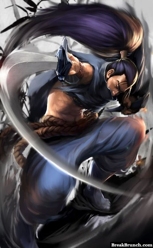 Awesome Yasuo fan art