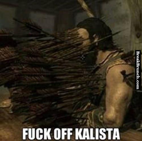 F*ck off Kalista – League of Legends
