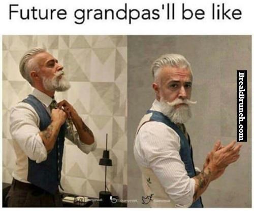 What future grandpas look like