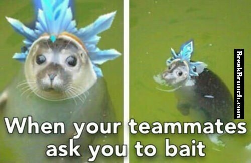 When your teammate ask you to bait – League of Legends