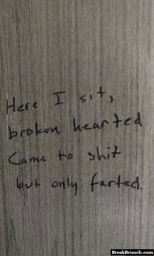 A shit poem