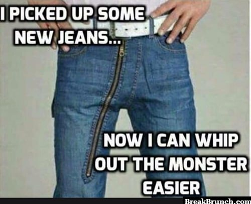 My new jean