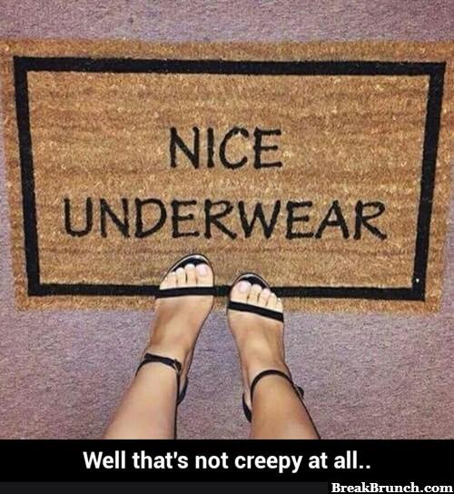 Nice underwear