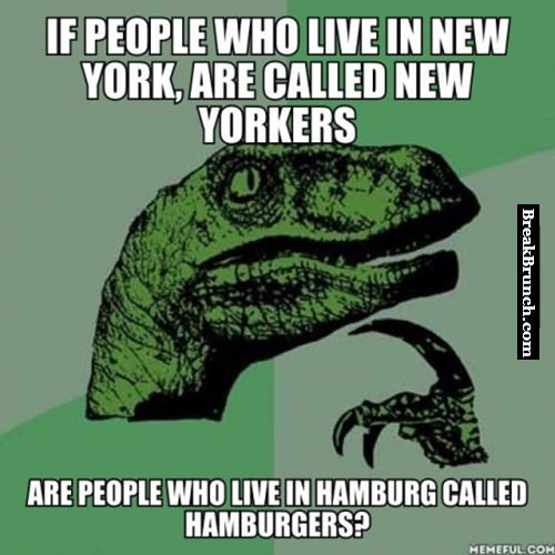 If people who live in New York are called New Yorkers