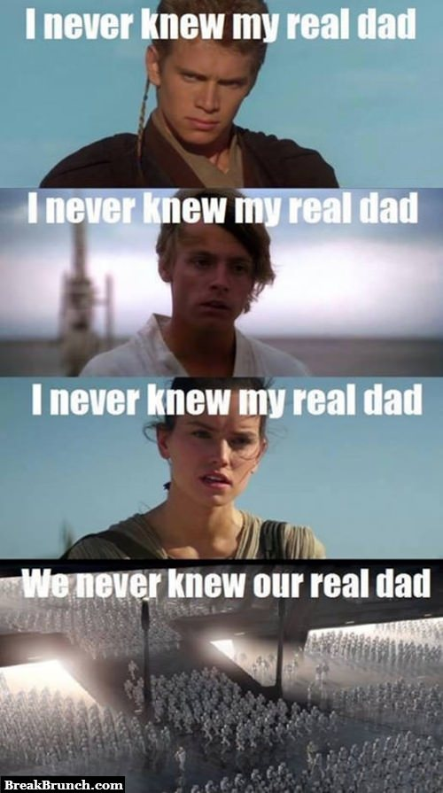 Star War is a movie about orphans