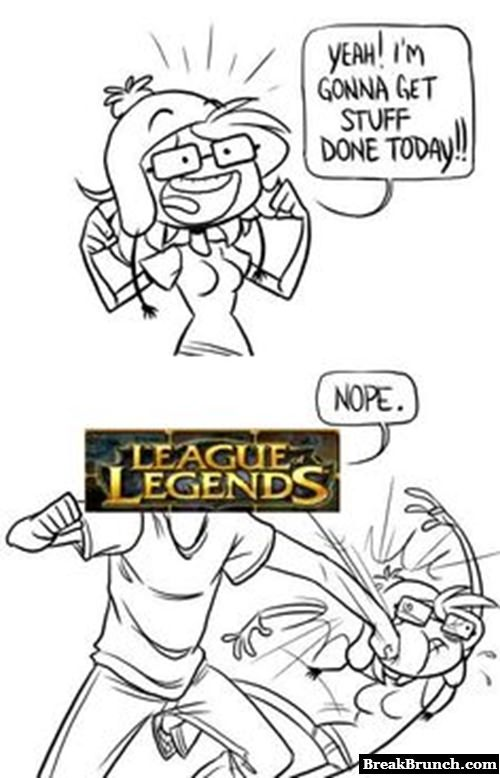 How League of Legends is ruining my goal