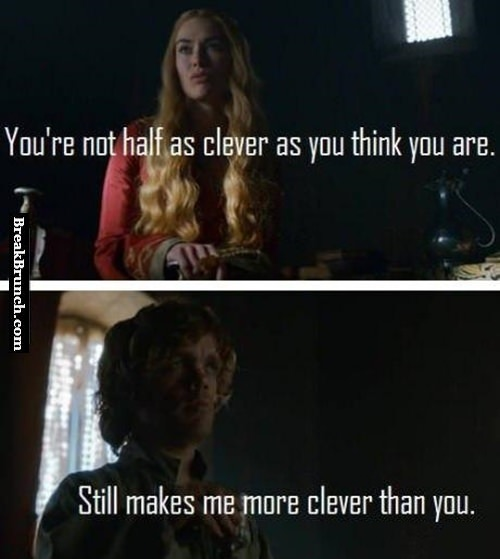 You are not half as clever as you think