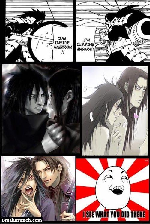 Bromance in Naruto