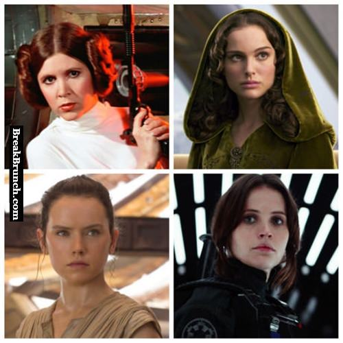 Which Star Wars girl is hotter