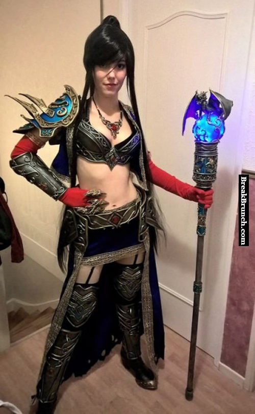 Wizard  from Diablo 3 cosplay