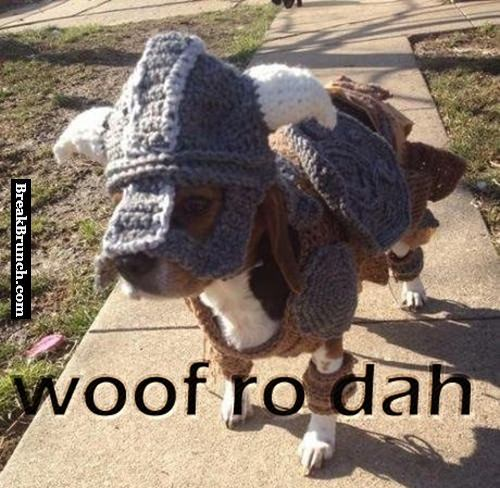 Woof ro dah