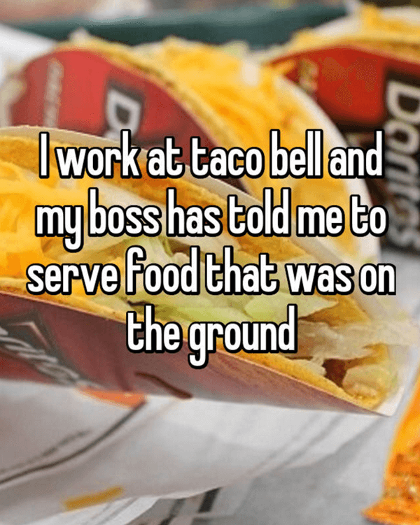 15 Confessions From Taco Bell Employees