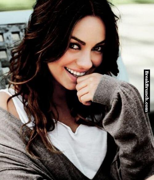 Mila Kunis is so hot