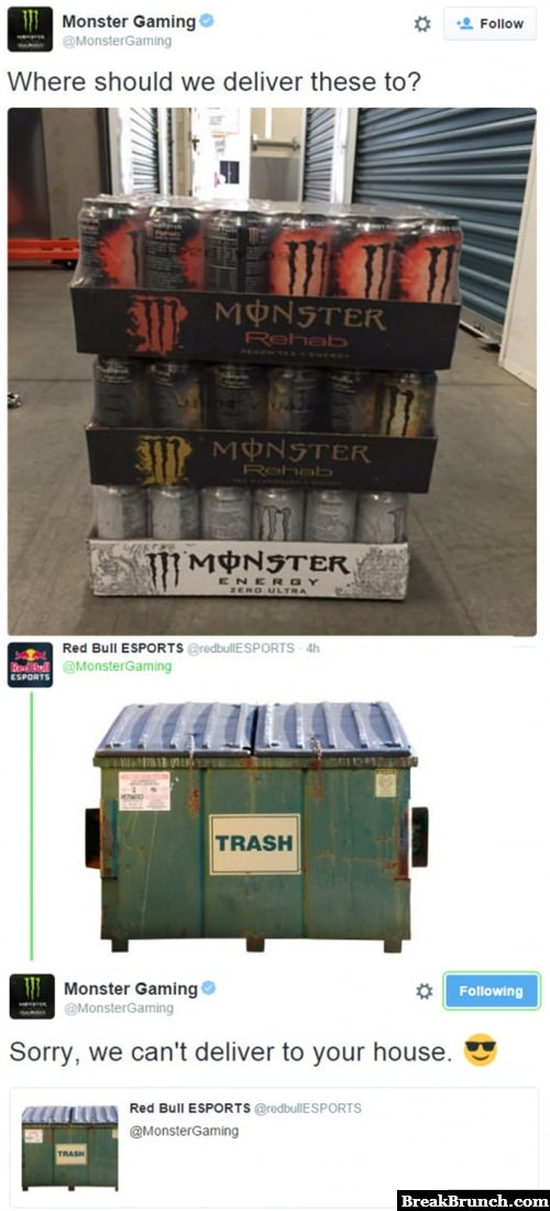 Monster vs Red Bull