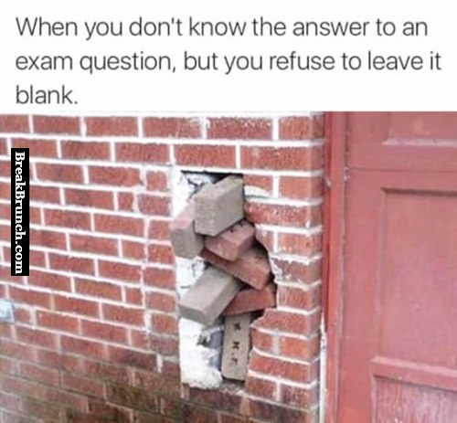 When you don't know the answer to a question
