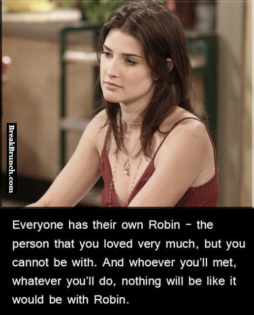 Everyone has their own robin