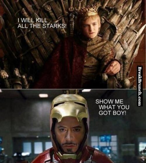 B*tch king wants to kill all Starks