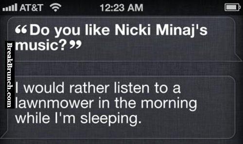 Do you like Nicki Minaj's music