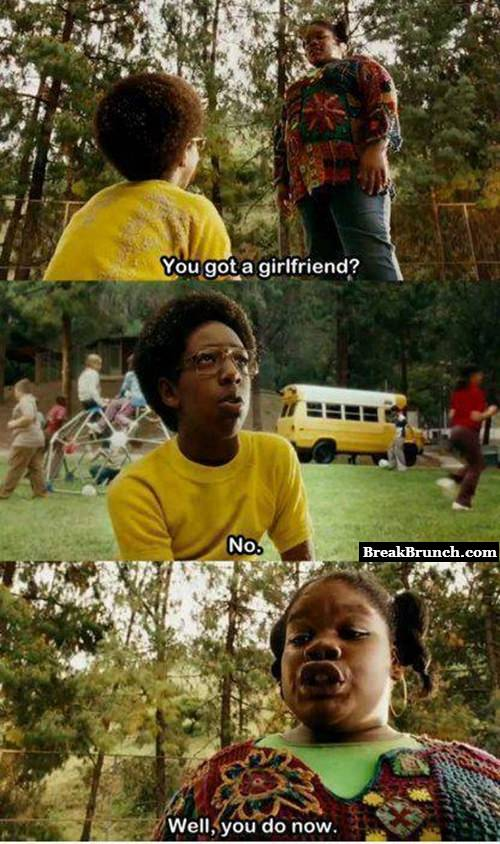 How I got my first girlfriend