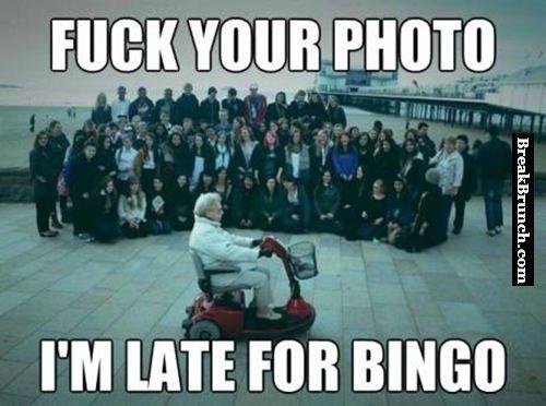 Grandpa gives no f*ck