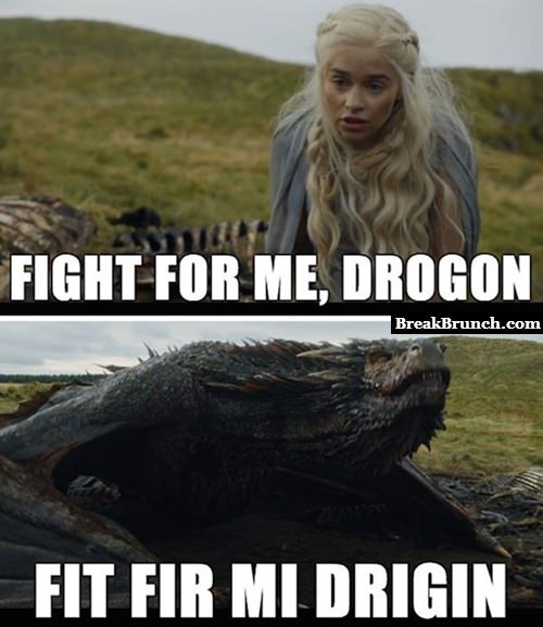 Funny Games of Thrones meme