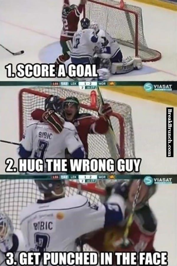 How to play hockey step by step
