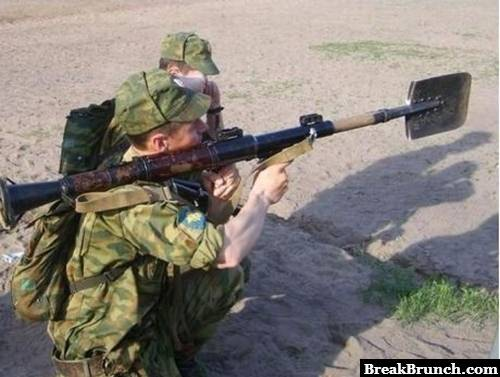 Russians can kill you with anything