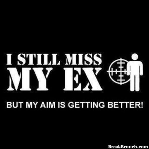 I still miss my ex