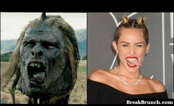 Uruk Hai totally looks like Miley Cyrus