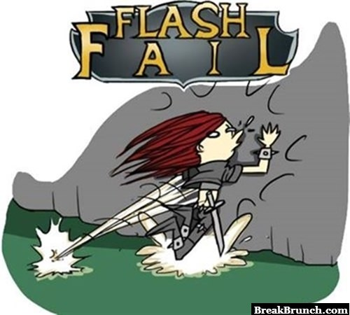 When you fail flash in League of Legends