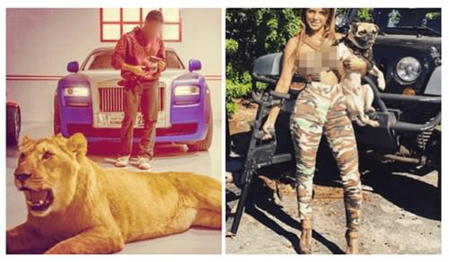 Mexican drug cartel showing off their lavish lifestyle on instagram (17 Photos)