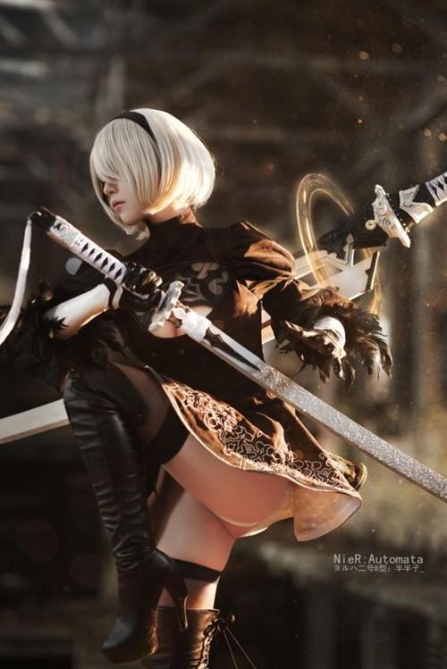 Aesome Nier Automata cosplay (5 photos)