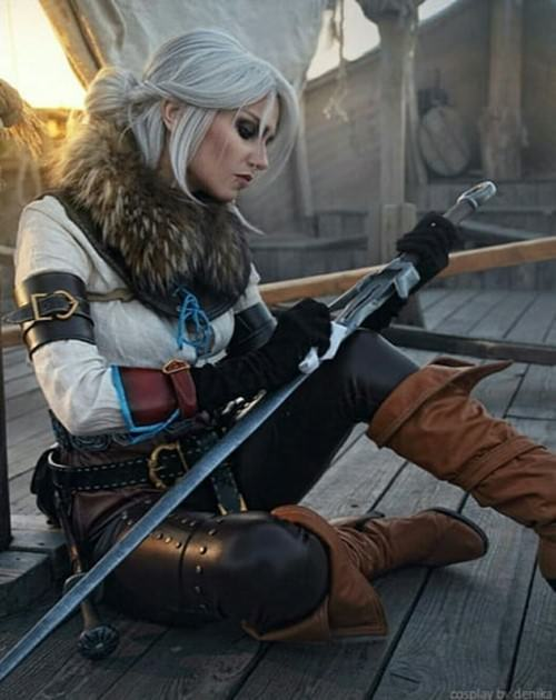 Awesome Cirilla cosplay