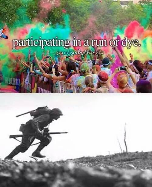 21 Military version of Just girly things