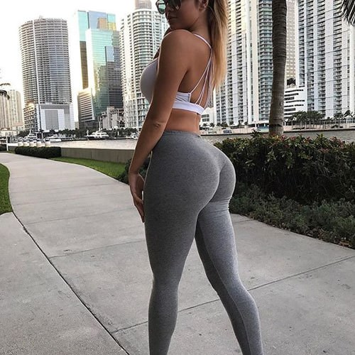 Girl Farting Yoga Pants