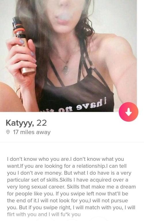 Dirtiest tinder profiles