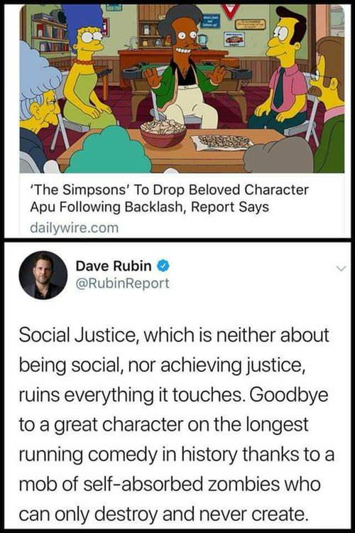 Every character is stereotype