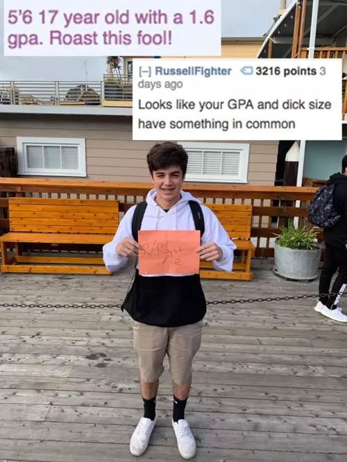 11 epic Roast Me from Reddit - BreakBrunch