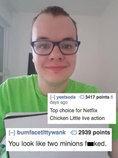 11 epic Roast Me from Reddit