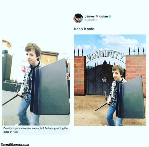 Don't ask James Fridman for photoshop helps (17 photos)