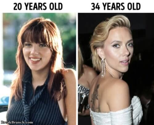 How celebrities look like when they are young (20 pics)