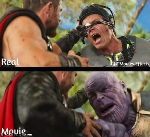 Movie scenes without special effects (35 pics)