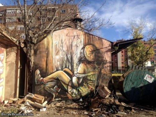 Amazing street art (24 pics)