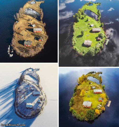 4-season-on-finland-island-012319
