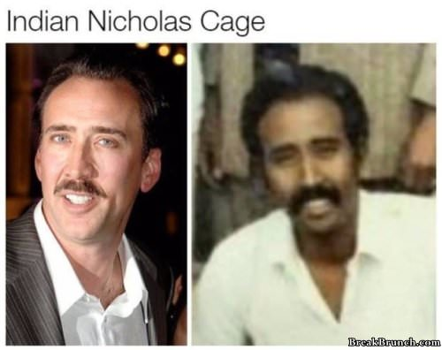 Celebrities and their foreign doppelgangers